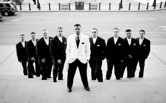 groomsmen in Providence