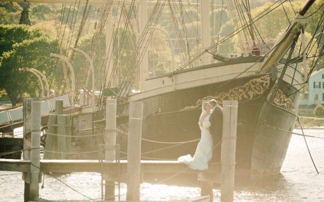 Mystic Seaport wedding at Mystic Seaport in Mystic CT