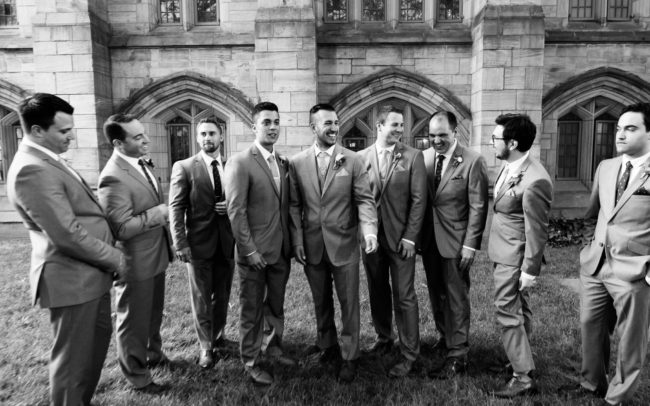 wedding at Yale university