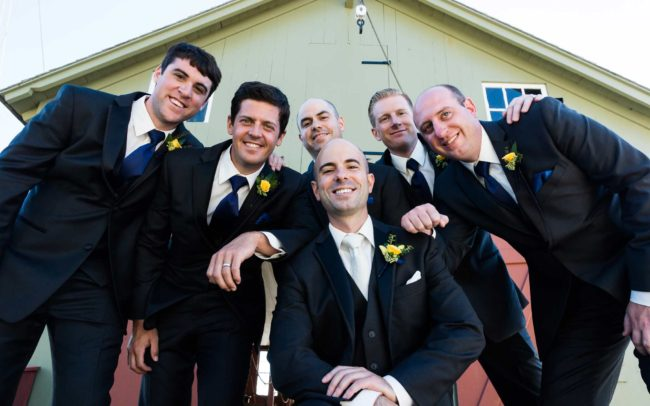 Groomsmen at Mystic Seaport