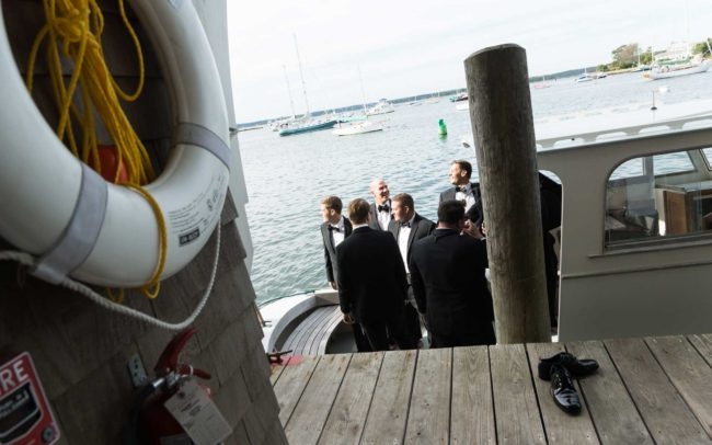 nautical wedding- Westerly Yacht Club