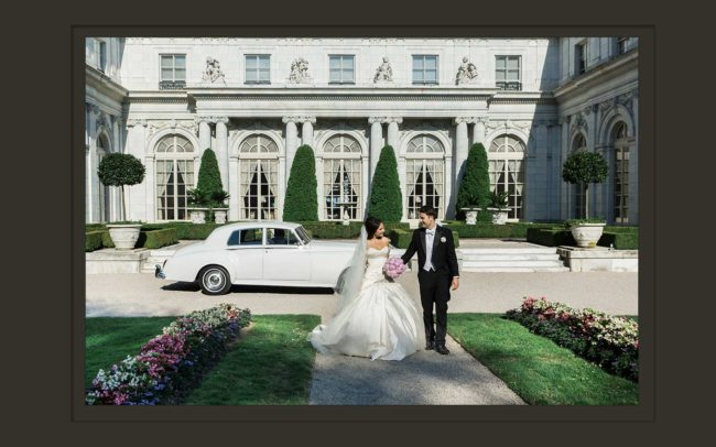 Rosecliff Mansion wedding photographers in RI