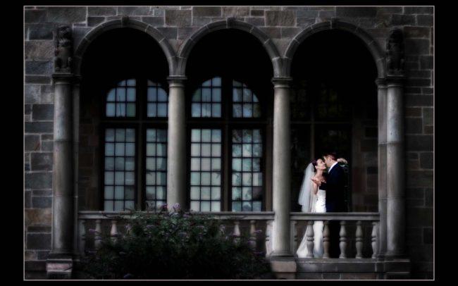 Wedding photography at Fairfield University