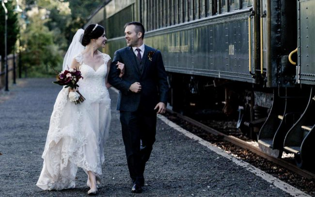 Lace Factory Wedding Photography-Essex Steamtrain